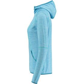 Meru Megara Stretch Fleece-huppari Naiset, ethereal blue